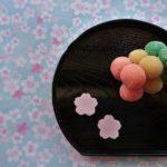 お茶会の干菓子、すはま団子に挑戦してみました!