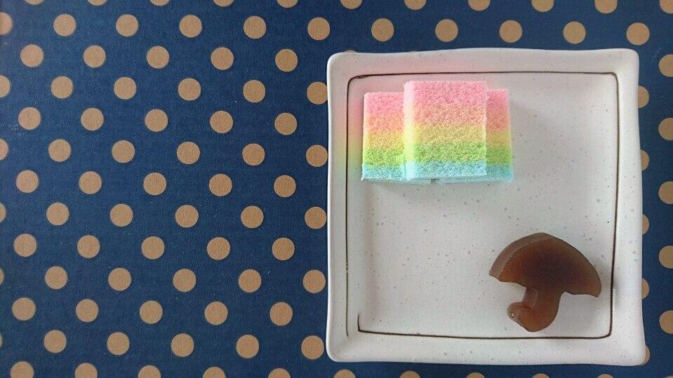 五月晴れをイメージしたお菓子を作りました
