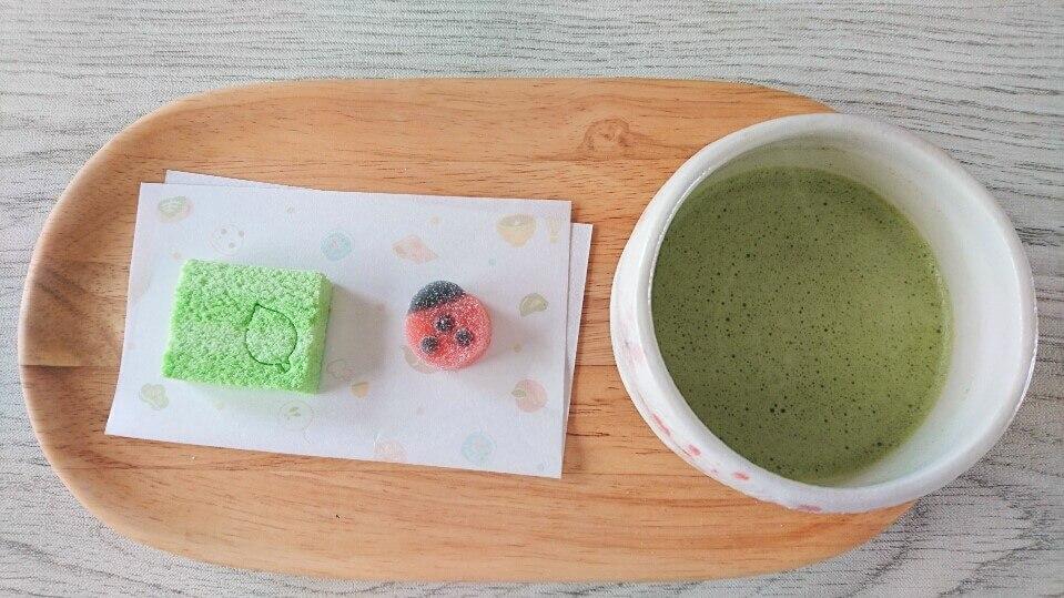 レトロこみちイベント「こども茶会」用のお菓子ができました!