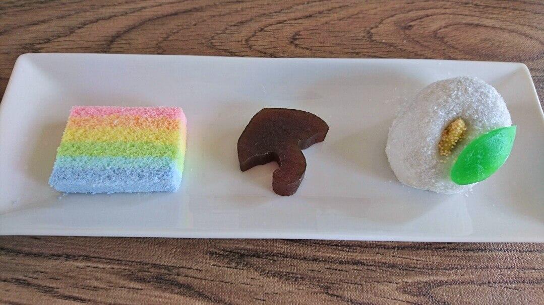 お茶菓子のご注文で3種類のお菓子を作りました!