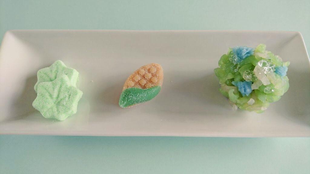 お茶菓子のご注文で3種類のお菓子を作りました。