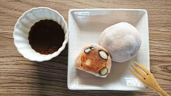 1月6日からの期間限定は豆乳キャラメル豆大福です!